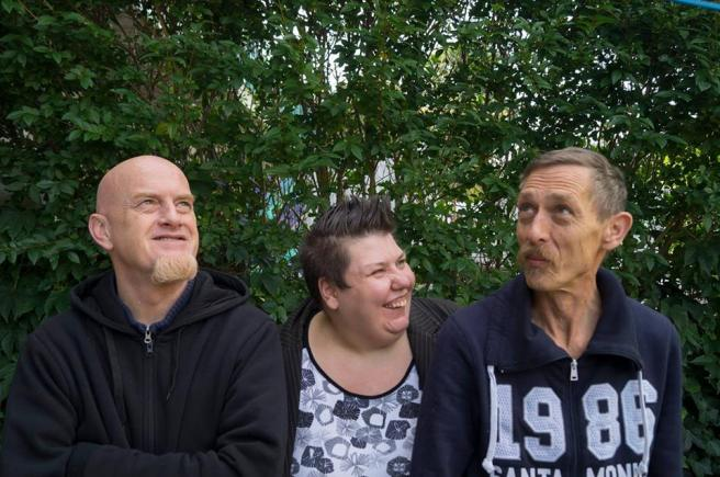 Me with my partners Tony (left) and Joep (right)